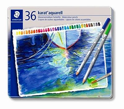 ステッドラー 水彩色鉛筆 36色