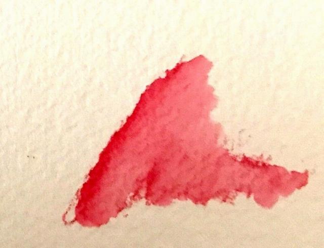 水彩色鉛筆 塗り方 水分多め