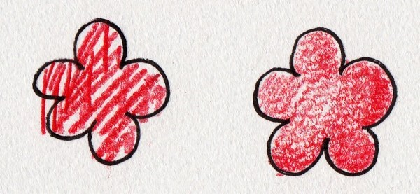色鉛筆の基本的な描き方