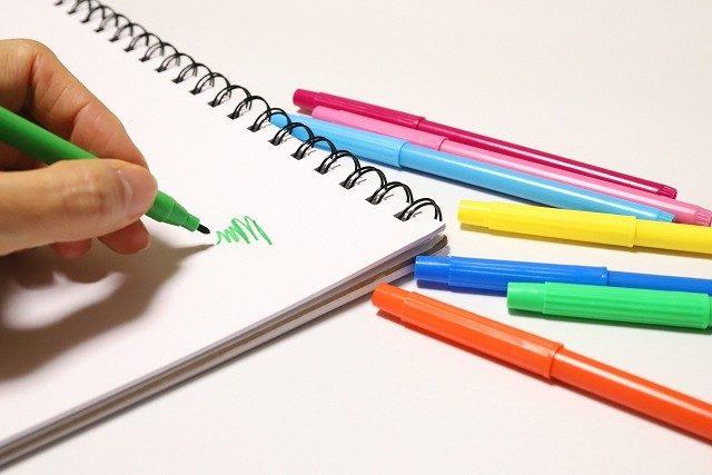 ペンの塗り方