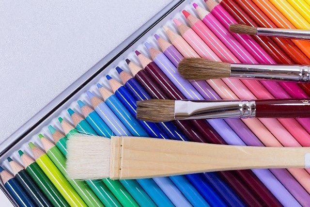 水彩色鉛筆・絵具の塗り方